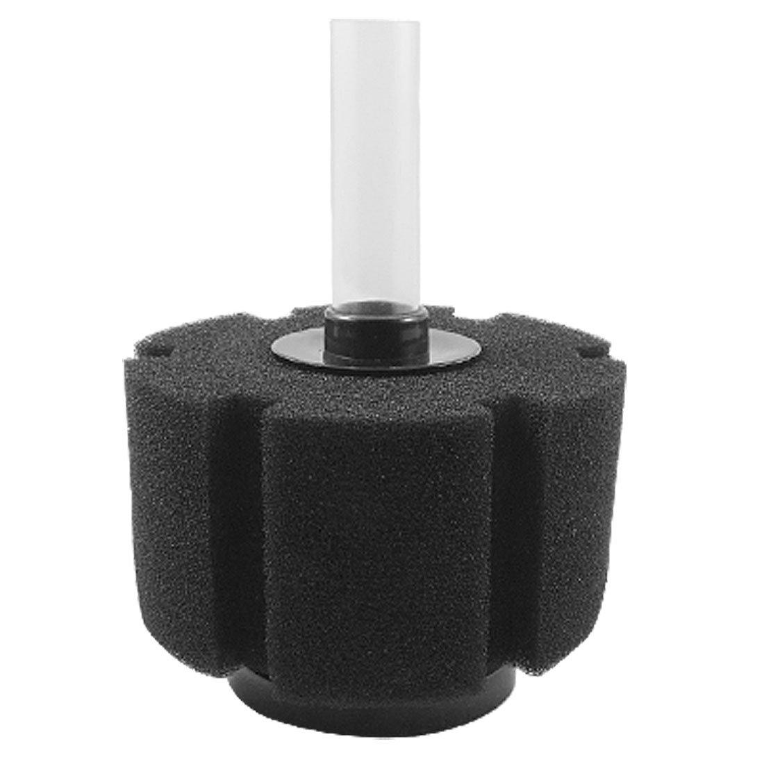 Sourcingmap® Acuario Tanque Mini Columna cilíndrica Esponja bioquímicos Negro Filtro de Agua: Amazon.es: Productos para mascotas