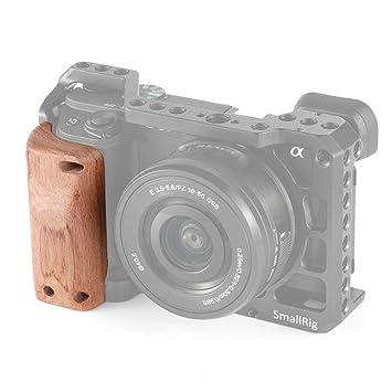 SMALLRIG Wooden Handgrip para Sony A6400 Cage - APS2318: Amazon.es ...