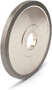 1Pcs 6Tapered Plain Resin Diamond Grinding Wheel to Grind Carbide Hard Steel 150 Grit 150x10x16x8