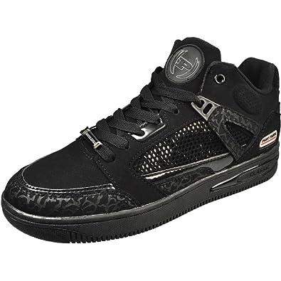 7f10b0fa105 Phat Farm Men's Reed 3 Black/Mono Fashion Sneakers