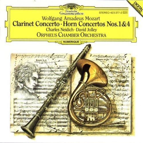 Mozart: Clarinet Concerto; Horn Concertos Nos. 1 & 4