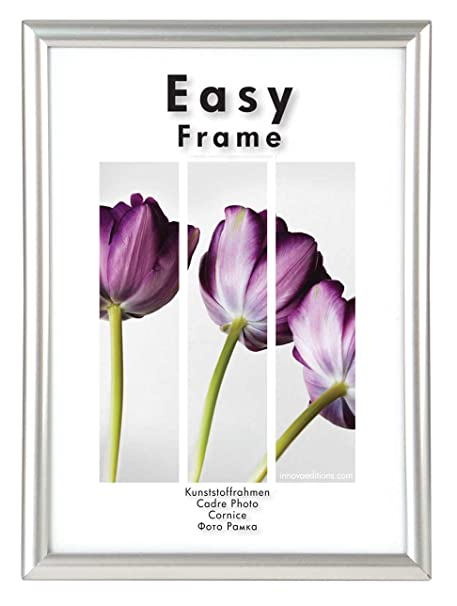 Innova Editions 60 X 80 Cm 32 X 24 Inch Easy Frame Silver Amazon