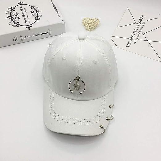 JXFM Sombrero de Bricolaje Femenino Creativo aro Colgante Gorra de ...