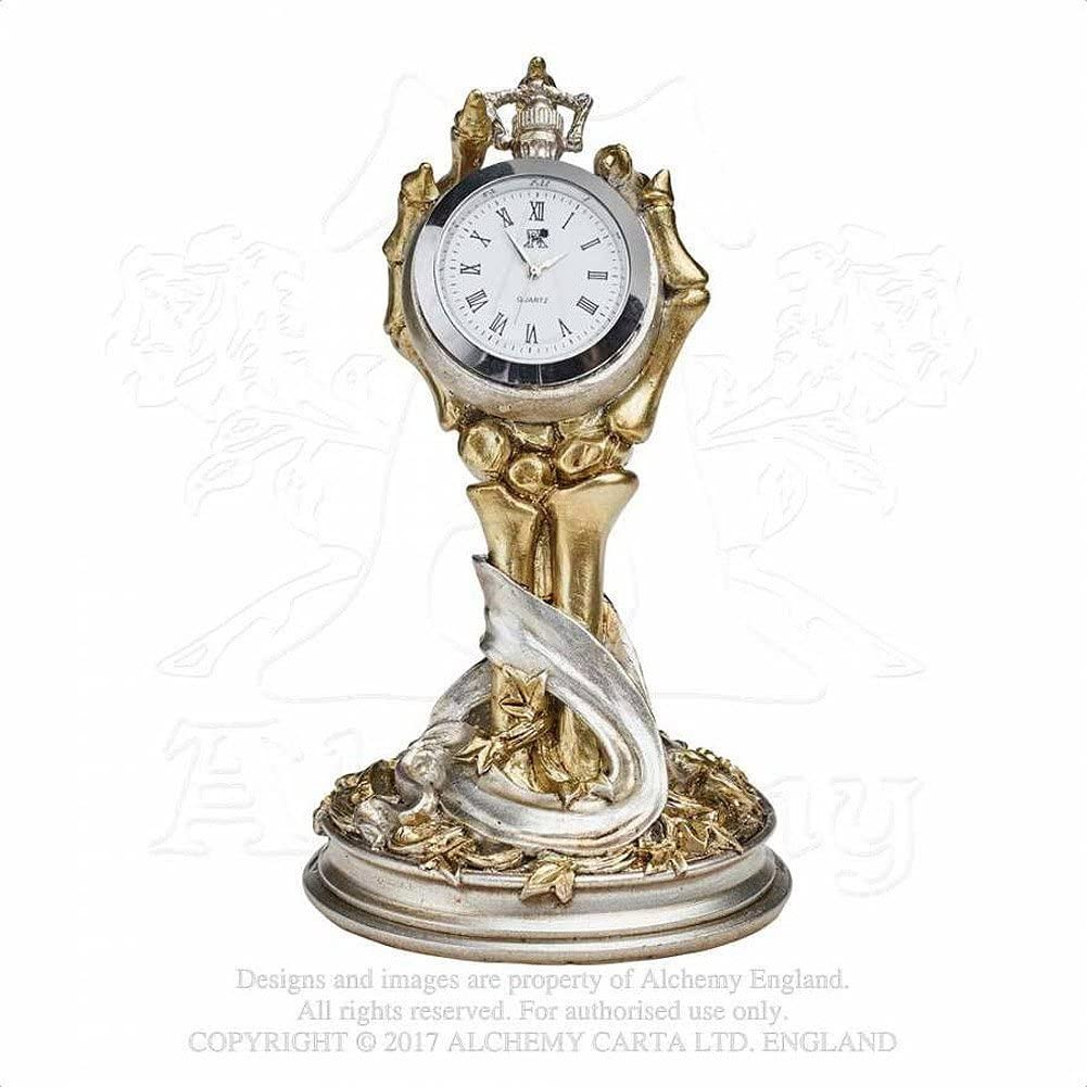 Alchemy Gothic Hora Mortis Clock