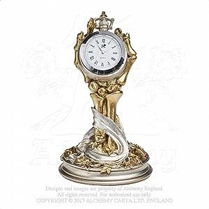 Alchemy Gothic Hora Mortis Clock