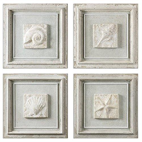 UPC 792977139899, 4-Pc Matira Stone Wall Art Set