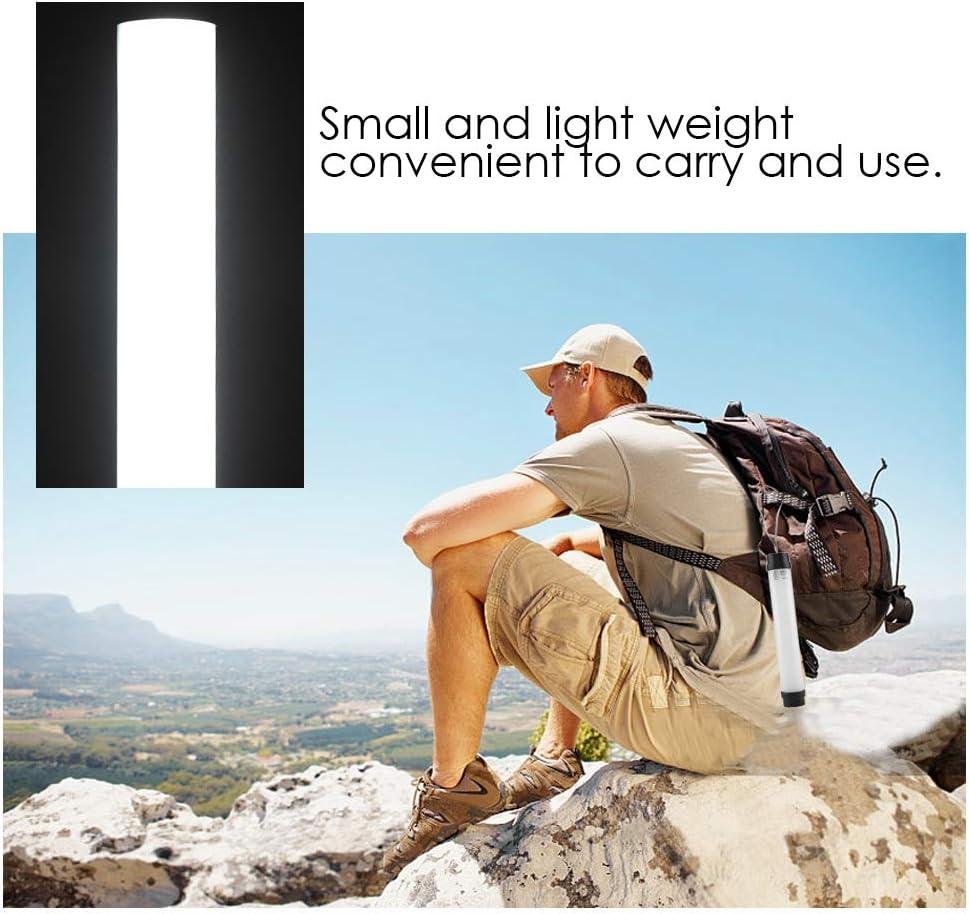 Riuty Portable Notlicht USB wiederaufladbare Campinglampe