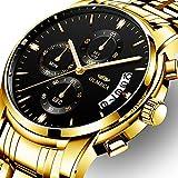 Best Watches For Men - OLMECA Men's Watches Luxury Wristwatches Rhinestone Watches Waterproof Review