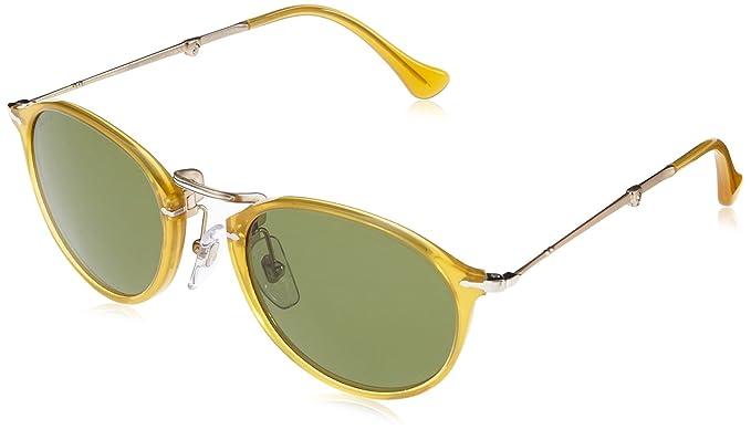 b1cd980828 New Original Sunglasses Persol PO 3075S 204 P1 Unisex Honey