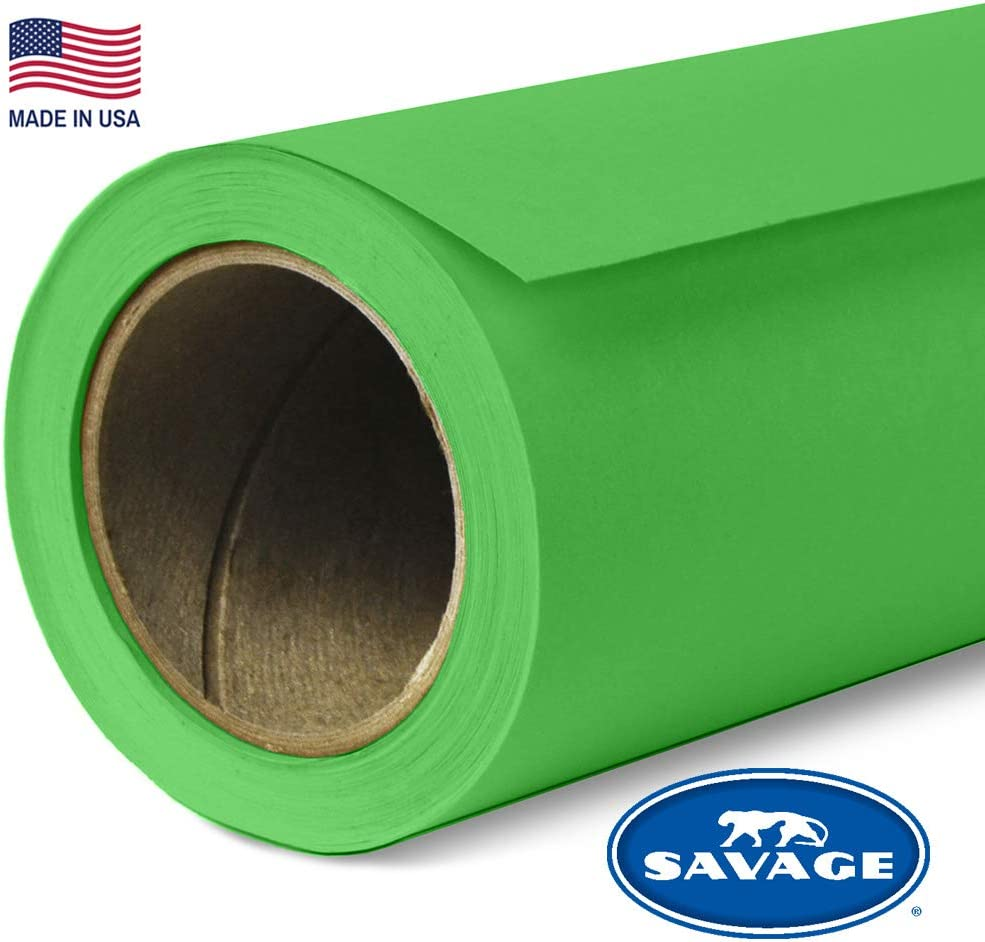 Savage Seamless Background Paper - #46 Tech Green (86 in x 36 ft)