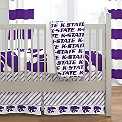 Carousel Designs Kansas State University 3-Piece Crib Bedding Set
