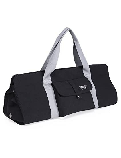 5eb9c54630 BAGLAND Yoga Mat Carrier Tote Bag with Expandable Main Compartment for Yoga  Belt