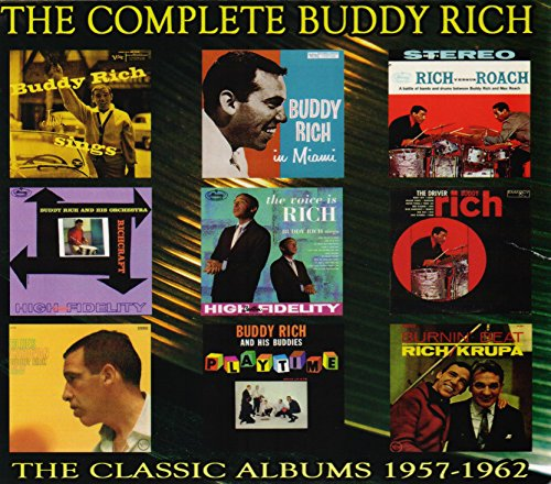 Complete Buddy Rich: 1957-1962 (5CD Box Set) ()