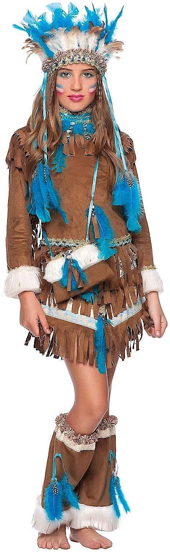a la venta Talla 8 M Disfraz Muchacha India DE AMRICA Vestido Vestido Vestido Fiesta de Cochenaval Fancy Dress Disfraces Halloween CosJugar Veneziano Party 50682  moda clasica