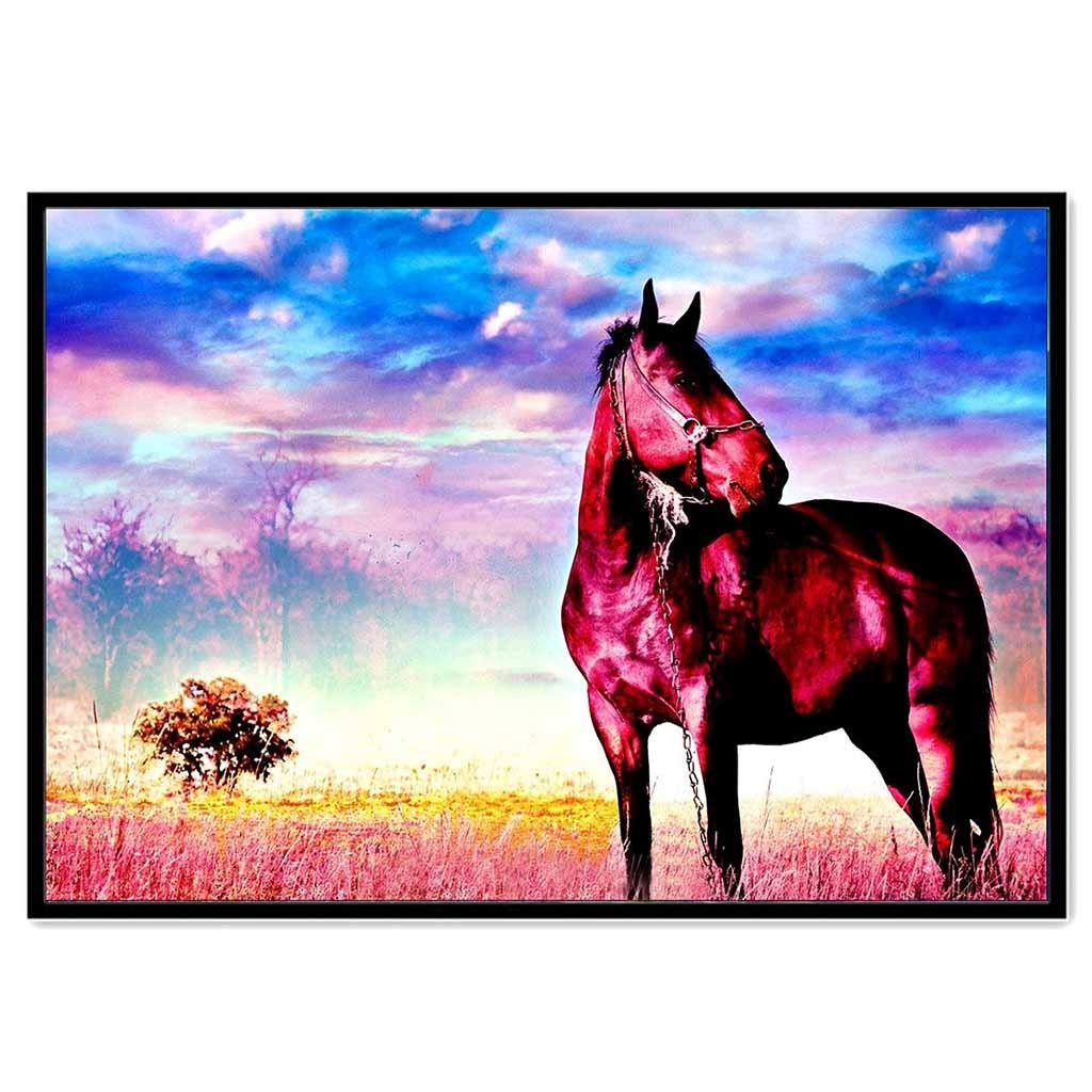 5D Embroidery Paintings Rhinestone Pasted DIY Diamond Painting Cross Stitch 11.81x15.74 inch, H