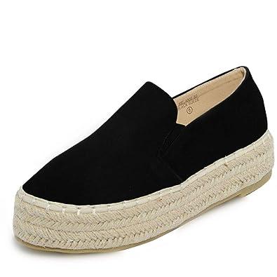 84e531b897947 Women's Lace-up Platform Wedge Oxford Fashion Creeper Creeper Shoes