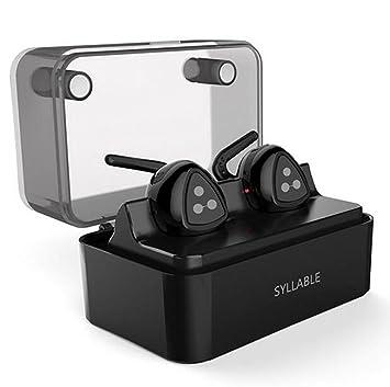 Truly Auriculares Inalámbrico, MindKoo Auriculares Bluetooth 4.1 In-ear Inalámbrico HIFI Cascos Manos Libres con Micrófono Deportivos Estéreo Headset para ...