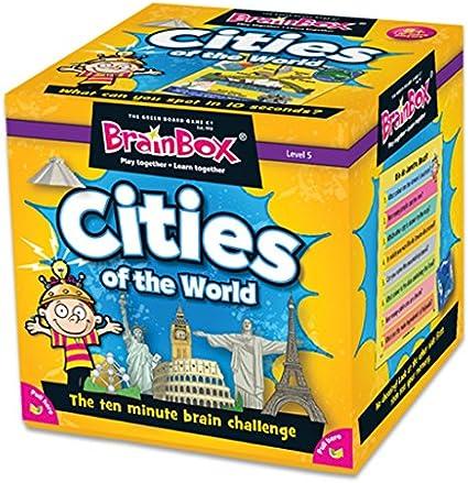 Brain Box Ciudades Juegos de Cartas: Amazon.es: Juguetes y juegos