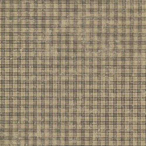 (Chesapeake CTR66309 Sadie Black Cottage Plaid Wallpaper)