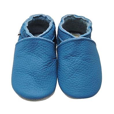 2c02dbea5ce19 Mejale Baby Boy Shoes Soft Soled Leather Moccasins Heart Infant Toddler Pre- walker(12