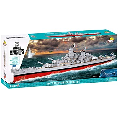 COBI World of Warships Battleship Missouri (BB-63): Toys & Games