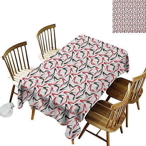 Gala Footwear - Family rectangular tablecloth W60