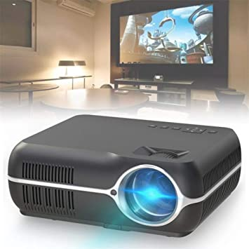 Cine en casa Proyector LED 1080P Android 6.0 4200 lúmenes WiFi ...