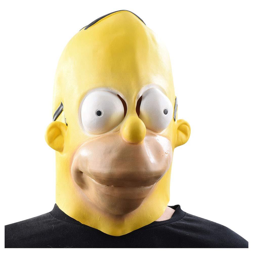 Máscara YN Película Personaje Personaje Simpsons https://amzn.to/2zDLgzB