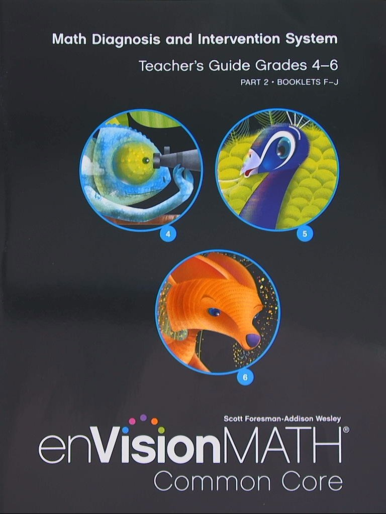 Workbooks envision math workbook grade 6 : enVision Math Common Core Teacher Guide Grades 4-6: Pearson ...
