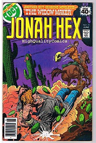JONAH HEX #25, FN, Widow Maker, Dick Ayers, Scar, 1977, more JH in store ()