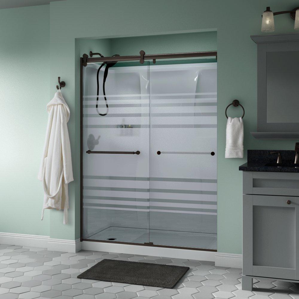 Delta Shower Doors Sd3172672 Linden 60 X 71 Semi Frameless