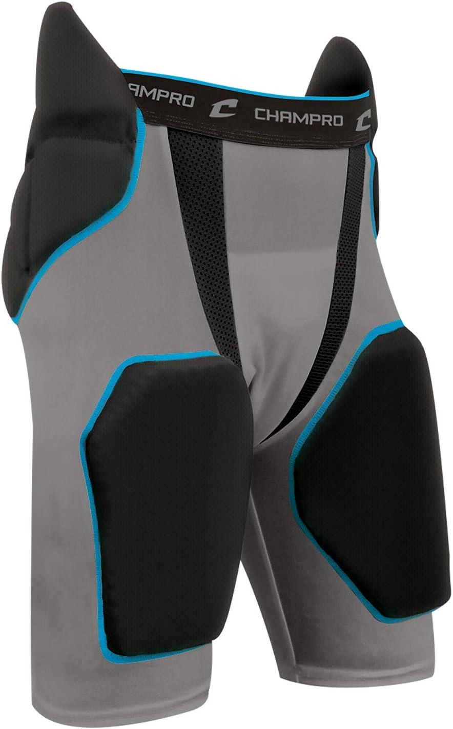 Champro Tri-Flex Intégré Football Panty avec Construit en Hip-Tail Coussinets et de la Cuisse