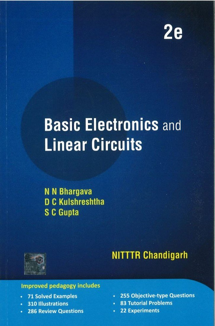 Buy Basic Electronics And Linear Circuits Book Online At Low Prices Circuit 4 Bipolar Stabilizes Power This Solves In India Reviews Ratings