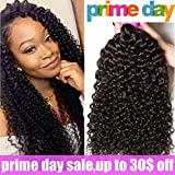 Ali Julia Wholesale 10A Indian Virgin Curly Hair Weave 3 Bundles Cheap 100% Unprocessed Remy Human Hair Extensions 95-100g/pc Natural Black Color (8 10 12 inch)