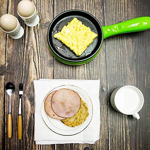 Cocina De Huevo: 6 Volumen De Huevo Sartén Eléctrica para Huevos Escalfados, Huevos Hervidos, Huevos Fritos Y Tortillas De Huevos con Función De Apagado ...