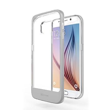 904ef11d891 Funda Galaxy S6 Edge - Azorm Hybrid Edition Plata: Amazon.es: Electrónica