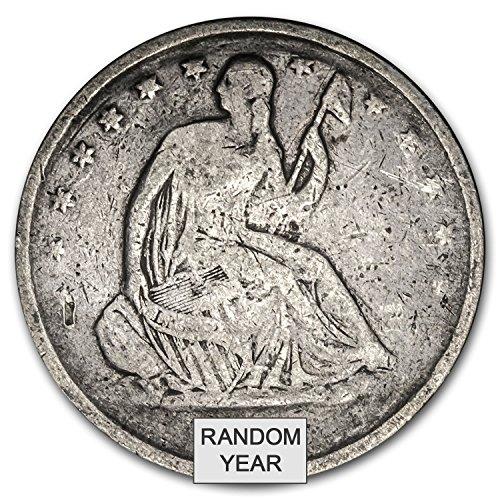 1839-1891 Liberty Seated Half Dollars Culls Half Dollar Good