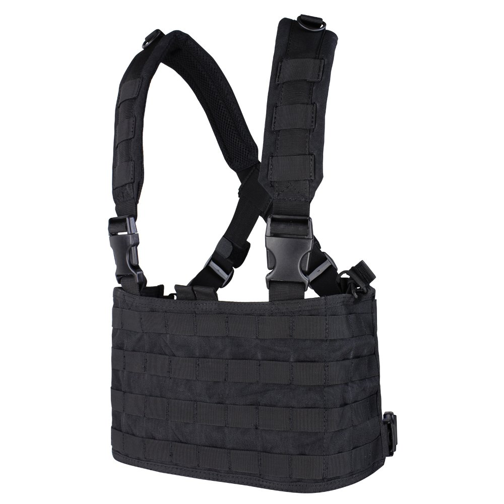 Condor Ops Chest Rig, Black by CONDOR