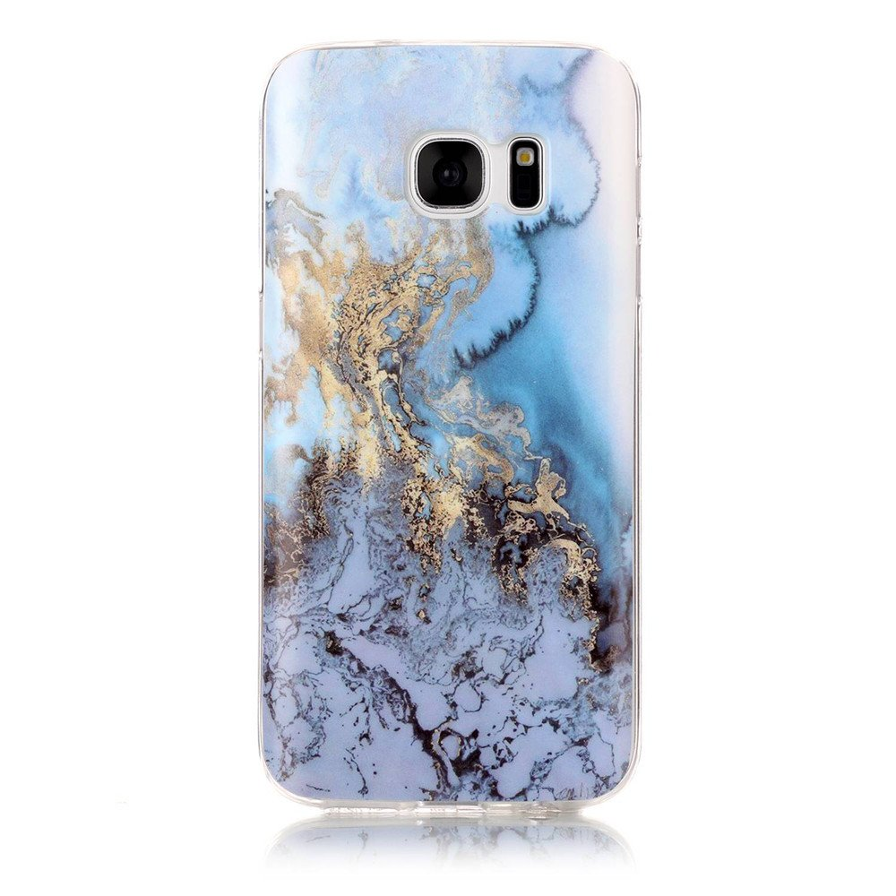separation shoes 87a6c 9839c S7 Sea&Blue Marble Case,IVY [Marble] Galaxy S7 TPU Case Cover for Samsung  Galaxy S7 Phone