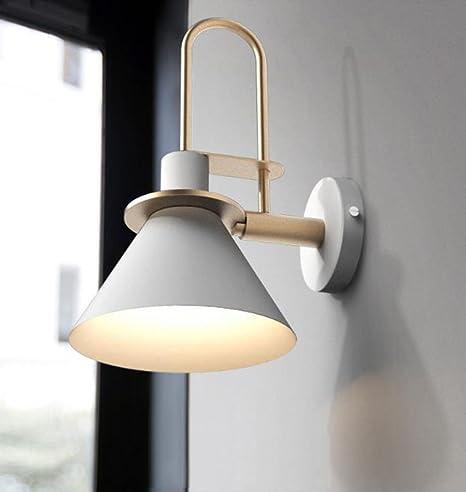 Yxx max *Aplique Pared Aplique - Lámpara de Pared Minimalista Moderna Creativa Sala de Estar Escalera Aplique Aplique de Pared Dormitorio Cabecero de Pared Iluminación Dormitorio (Color : A): Amazon.es: Hogar