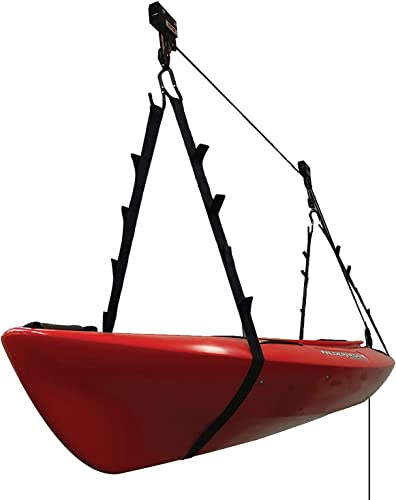 Kayak Ceiling Hoist for Quality Garage Storage [Extreme Max] Picture