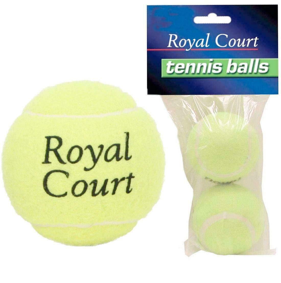 Islander Fashions Nouvelles balles de Tennis Lot de 2 Chien de Plage Jouet Sport Jouer au Cricket Jeux de Plein air