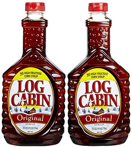 Log Cabin Original Syrup, 24 Ounce (2 Pack)
