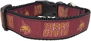 product image for All Star Dogs NCAA Texas State Bobcats Dog Collar