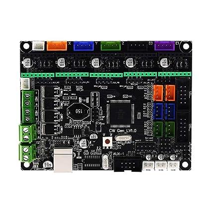 H HILABEE Impresora 3D Pieza MKS Gen L V1.0 Placa De Control ...