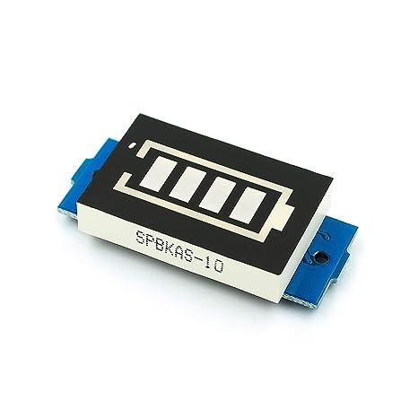 Amazon.com: TD-ELECTRO 1S 2S 3S Módulo indicador de ...