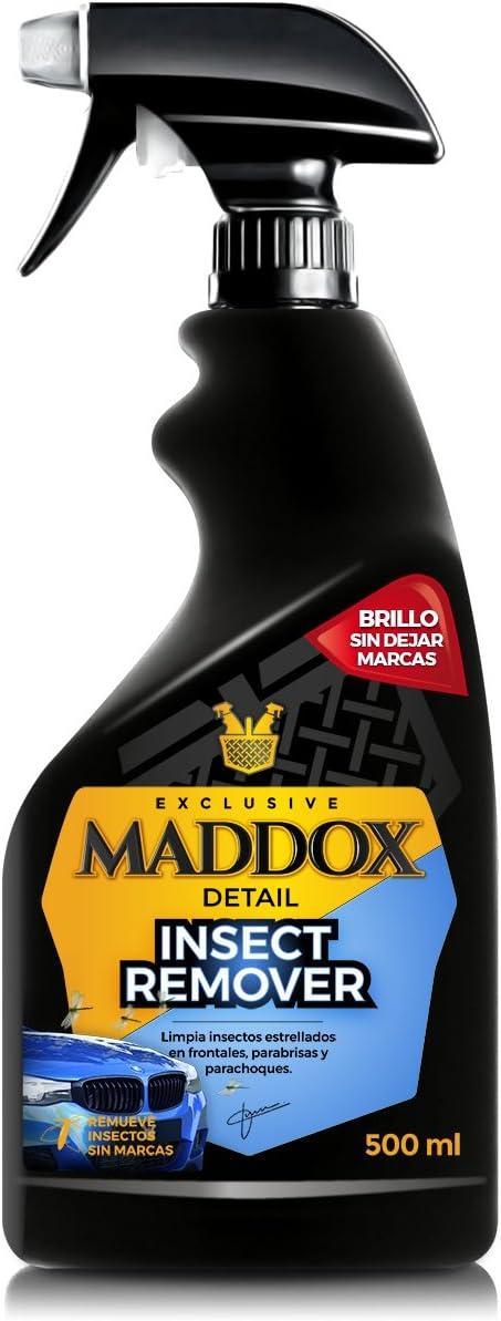 Maddox Detail - Insect Remover - Limpiador Insectos estrellados en Frontales, Parabrisas y Parachoques. (500ml)