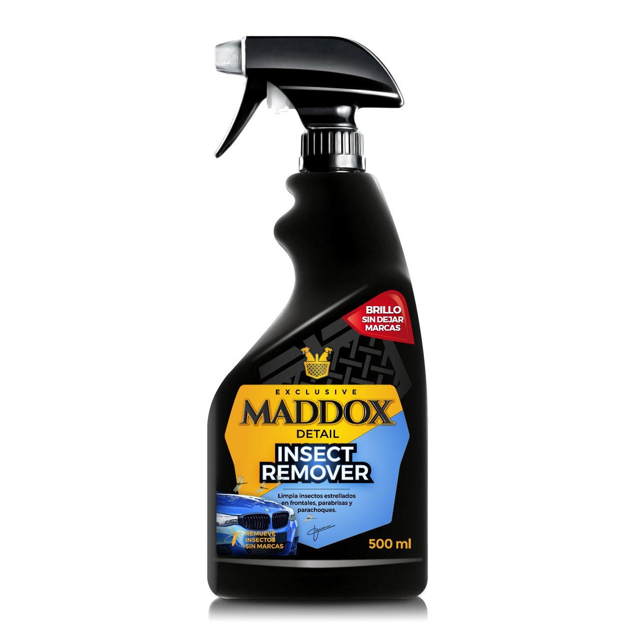 Maddox Detail 10203 Insect Remover - Limpiador Bichos Estrellados En Frontales, Parabrisas y Parachoques. (500Ml)
