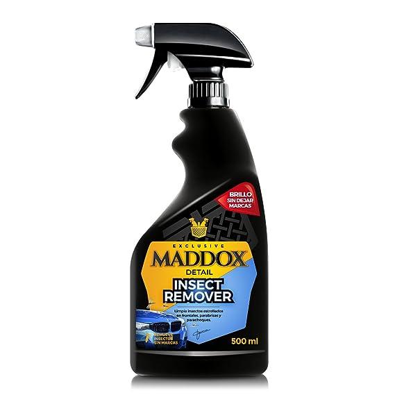 Maddox Detail 10203 Insect Remover - Limpiador Bichos Estrellados En Frontales, Parabrisas y Parachoques. (500Ml): Amazon.es: Coche y moto