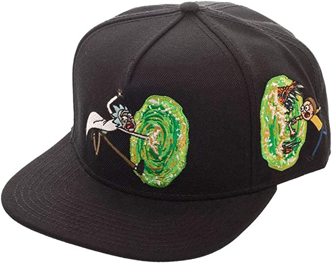 BioWorld - Rick and Morty - Sombrero Snapback de Logo Portal ...